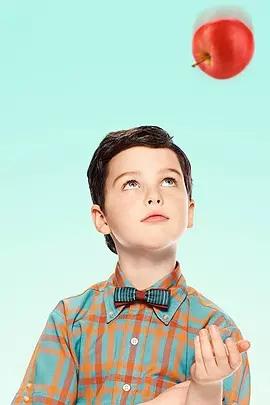 小謝爾頓第二季海報